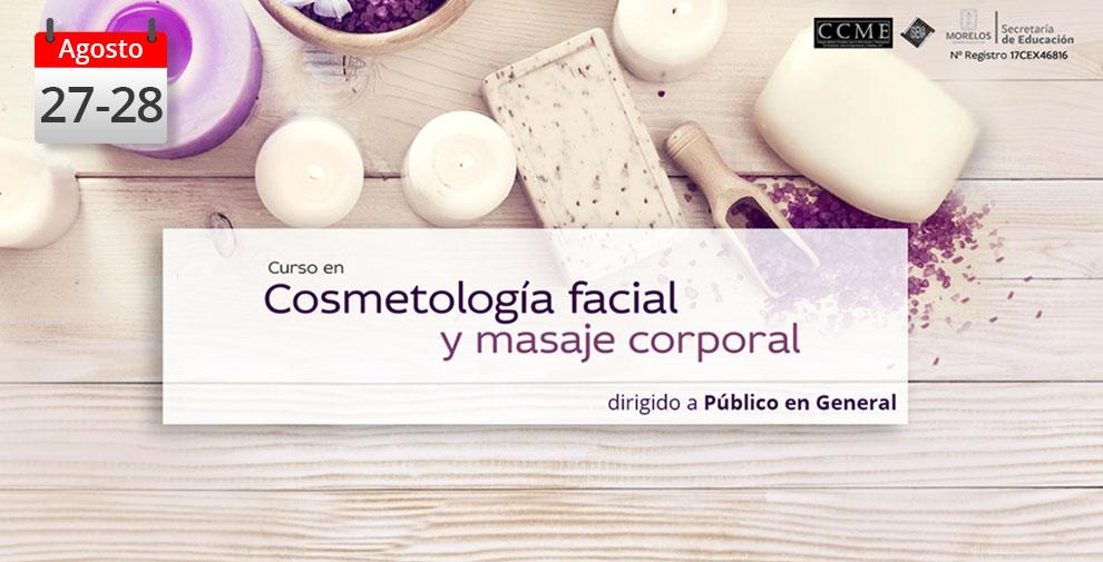 Cosmetología Facial y masaje corporal