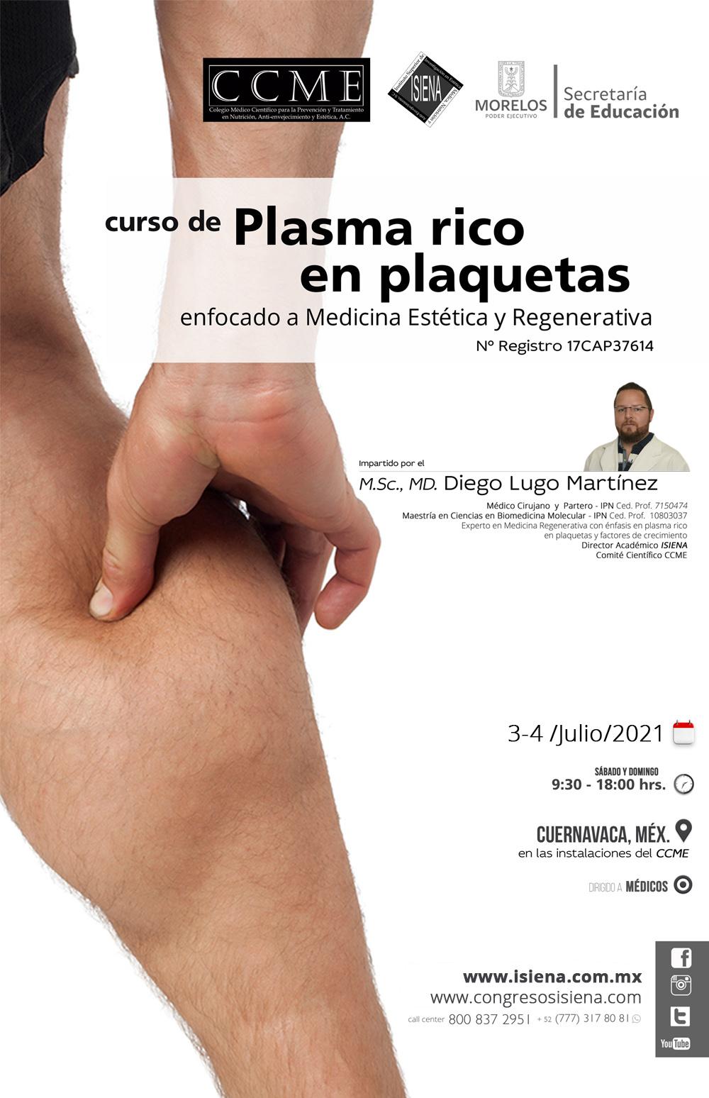 Curso de PRP - Plasma Rico en Plaquetas