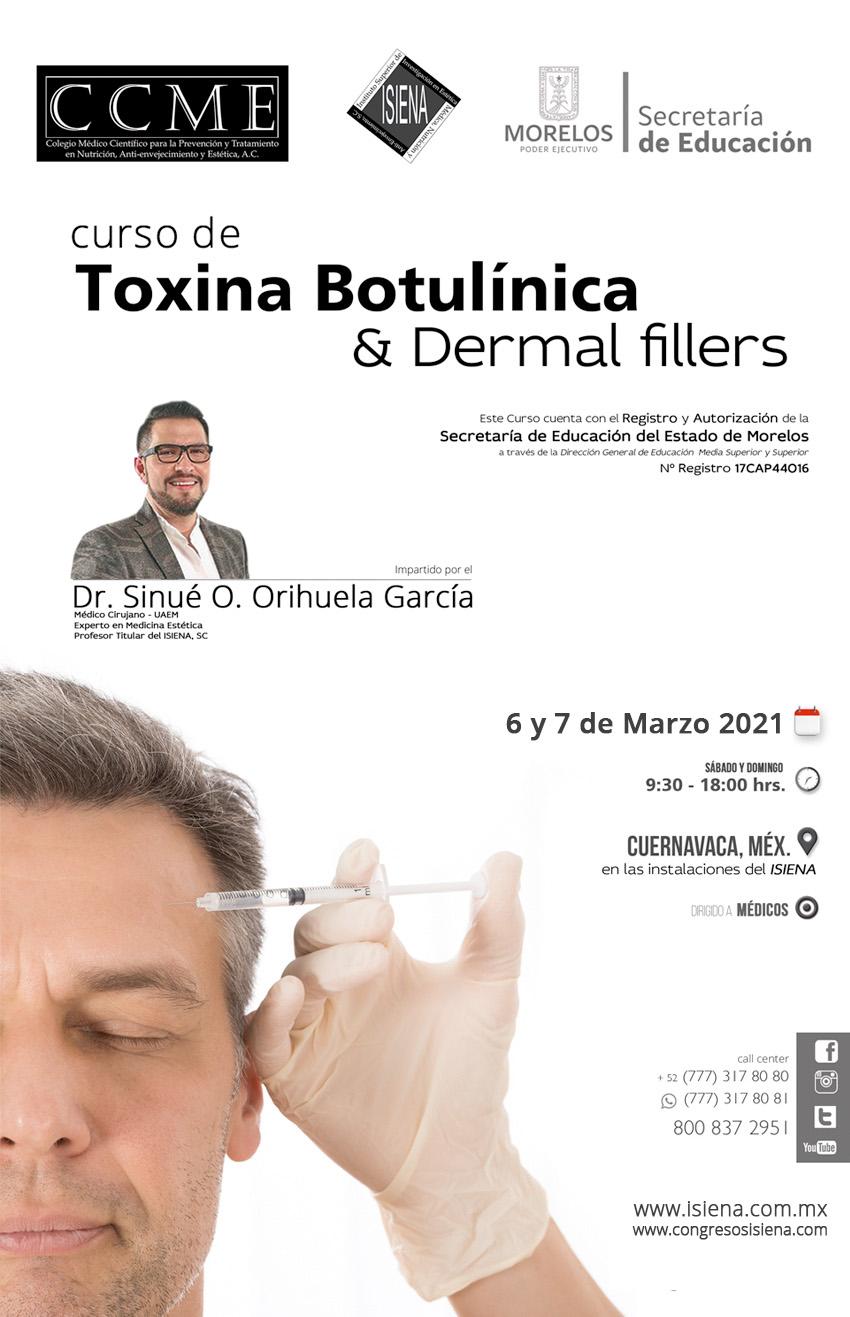 Curso de aplicación de botox